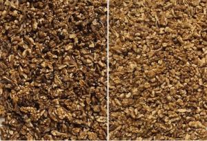 Оптично сортиране на орехи по цвят