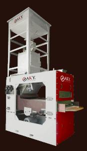 Система за натрошаване и почистване на орехи