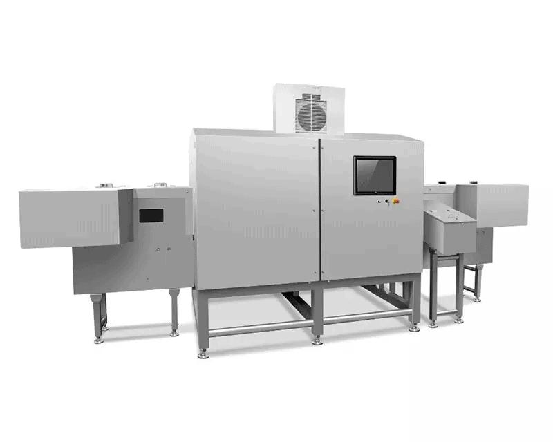 X-ray скенер за консерви, буркани и бутилки