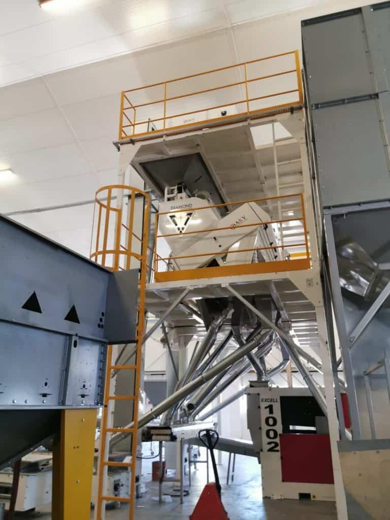 Машини за сортиране на боб